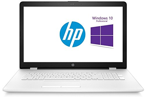 HP (17,3 Zoll) Notebook (Intel N3710 Quad Core 4x2.56 GHz, 8GB RAM, 750GB SSHD, Intel HD 405 Graphic, HDMI, Webcam, USB 3.0, WLAN, DVD-Brenner, Windows 10 Professional 64-Bit) #5749