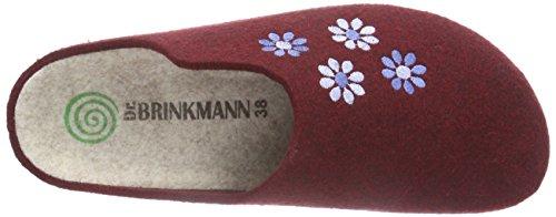 Dr. Brinkmann 320434, Chassons avec doublure intérieure femme Rouge - Rouge