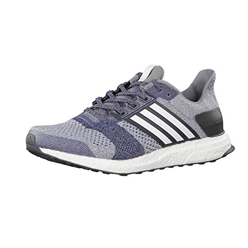 adidas Ultra Boost St M, Chaussures de Running Entrainement Homme grey/ftwr white/core red