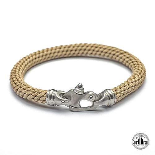 Maritime Armband - SEA- Mariner Herren Armband - sun Bracelet - Cord Armband, Herrenarmband, Nylon men bracelet, Shackles Bracelet -