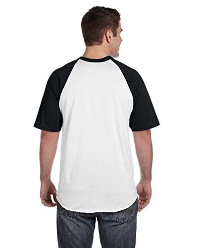 AugustaHerren T-Shirt Mehrfarbig - White/Black