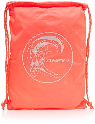 O 'Neill – Mochila con bolsillos BM Gym, hombre, Bm gym sack, Fluoro Peach, 0