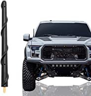 KSaAuto Short Antenna Compatible with Ford F150 2009-2021, 7 Inch Flexible Rubber Car Wash Proof Antenna Repla
