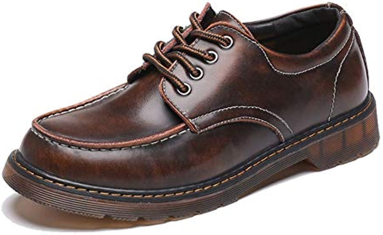 Casual da Uomo Classico Antiscivolo Oxford Round Head Outsole Low Top scarpe da Lavoro,Scarpe Uomo Pelle (Coloree...   Meraviglioso    Scolaro/Signora Scarpa