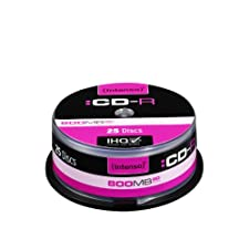 800 MB, multispeed, scratch et UV resistant, spindle, 25 pcs Cakebox, retail pack
