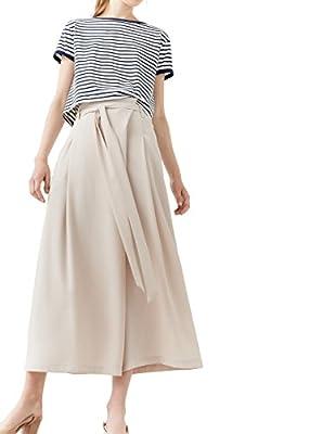 MANGO - Belt straight-fit Loose trousers