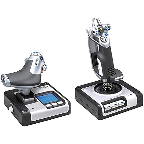 Saitek Pro Flight Joystick Throttle X52 Hotas Sistema de control para simuladores de vuelo en PC