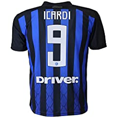 Idea Regalo - F.C. INTER - L.C. SPORT srl Maglia Inter Mauro Icardi 9 Replica Autorizzata 2018-2019 Bambino (Taglie-Anni 2 4 6 8 10 12) Adulto (S M L XL) (XL)