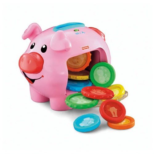 Image of Fisher-Price Laugh 'n' Learn Piggy Bank