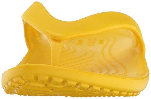 crocs Damen Kadeeiiflipw Pantoffeln Gelb (Lemon)