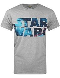 Official Star Wars Space Logo Men's T-Shirt