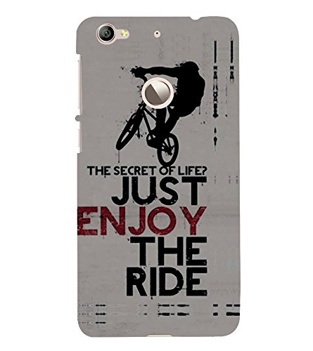 Fiobs Designer Phone Back Case Cover LeEco Le 1s :: LeEco Le 1s Eco :: LeTV 1S ( Stunt Rider Bike Cycle Racer )  available at amazon for Rs.397