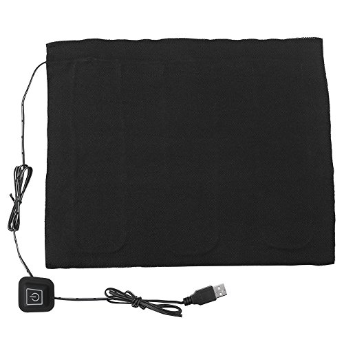 Akozon USB Heizung pad DC 5 V 3-Shift Elektrische Tuch USB Elektrische Tuch Heizkissen Heizelement Für Haustier Wärmer