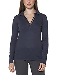 FRED PERRY 31052080 POLO MANICHE LUNGHE Mujer