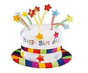 Boland 00932-Sombrero Happy Birthday, multicolor