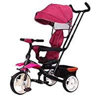 4 in 1 Trike Kids Tricycle Infant Stroller, Children