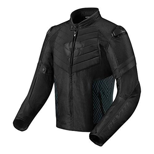 Revit ARC H20 Motorrad Textiljacke Schwarz M