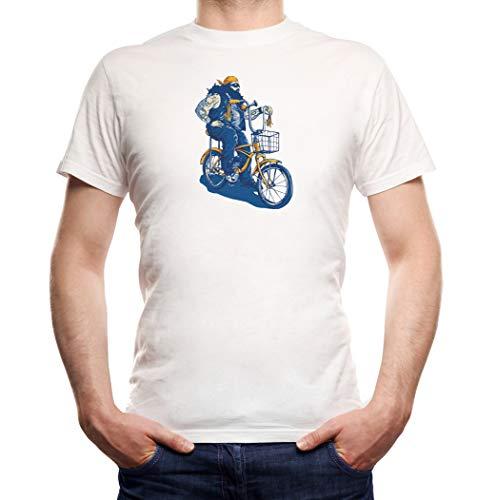 Certified Freak Fat Biker T-Shirt Boys White XXL