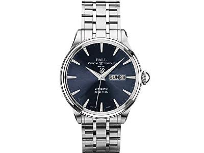 Ball Trainmaster Eternity Watch, Ball RR1102, Blue, Steel bracelet