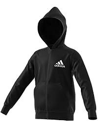 buy popular f8e15 7b835 adidas DV0799 Sudadera, Niños, Negro (BlackWhite), ...