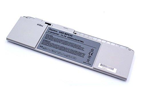 vhbw Li-Polymer Akku 4200mAh (11.1V) für Notebook Laptop Sony VAIO SVT1311M1ES, SVT1311S2CS, SVT1311W1E, SVT1311X9E wie VGP-BPS30, VGP-BPS30A.