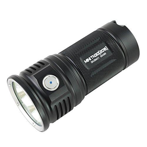 ThruNite MINI TN30 CREE XP-L V6 LED Max 3660 Lumen 4x18650 Akku LED...