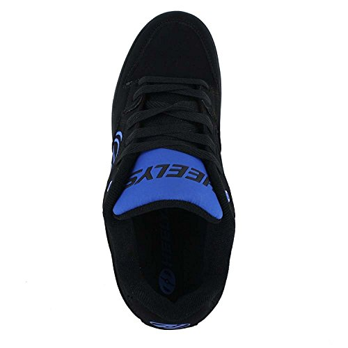 Movimento Nero Moda Heelys Mens Più Royal Sneaker 841wpnO6x