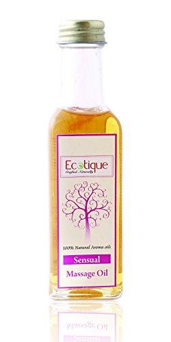 Ecotique Massage Oil Sensual, 100ml