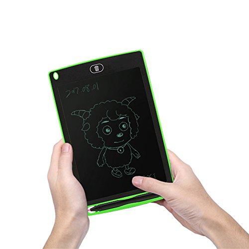 Preisvergleich Produktbild Tragbar 21, 6 LCD Writing Drawing Tablet,  gezichta Hohe Leuchtdichte Grafiktablett,  Ultrathin Elektronisches LCD Schrift Draft Pads Langlebig Zeichenbrett Graphic für Kinder und Business Free Size grün
