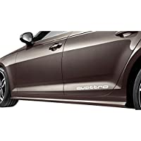 Audi 8W00716859AX Potenciador de aspecto de bajo Holm Ampliaciones Original Tuning verkleidung schweller reequipamiento