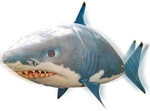 Yonis - Requin Volant Télécommandé Gonflable Hélium Poisson Radiocommandé