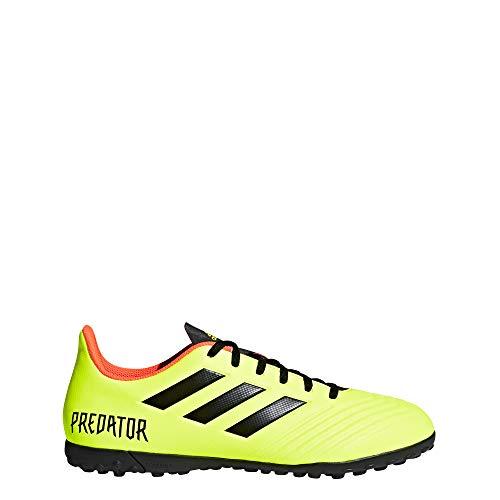 adidas Herren Predator Tango 18.4 TF Fußballschuhe, Gelb Neongelb/schwarz, 46 EU