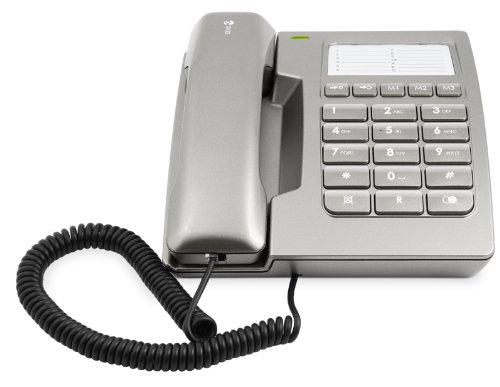 Doro 912c Titan Schnurgebundenes Telefon mit optischen Anrufsignalgeber (LED)