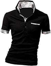 MQ Homme Nouveau Polo Shirts Manche Courte Casual T-shirt Mode Mince Fit Chemise Tee Tops