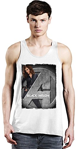 Avengers Standee Black Widow Tank Top X-Large