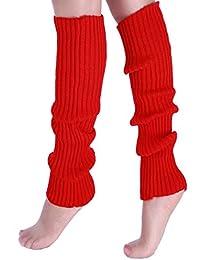 PreSox de las mujeres de la rodilla de cable de alta Knit Calentadores de pierna para