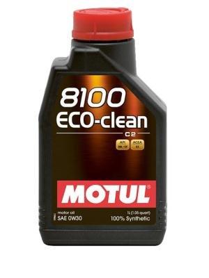 Motul 102888Moteur 8100Eco Clean 0W-30, 1l pas cher