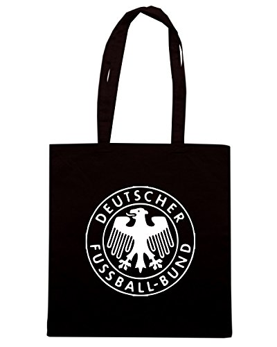 T-Shirtshock - Borsa Shopping TSTEM0173 germany football Nero