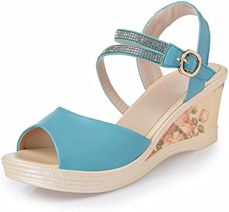 Pente des des des Femmes avec des  s Cuir avec Une Plate Forme étanche épaisse et étanche avec des Chaussures à...B074JDVPZBParent   Matériaux Soigneusement Sélectionnés  fbe5d0