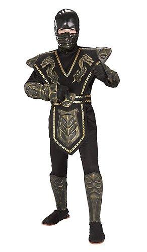 Rubies Déguisement Gold Dragon Warrior