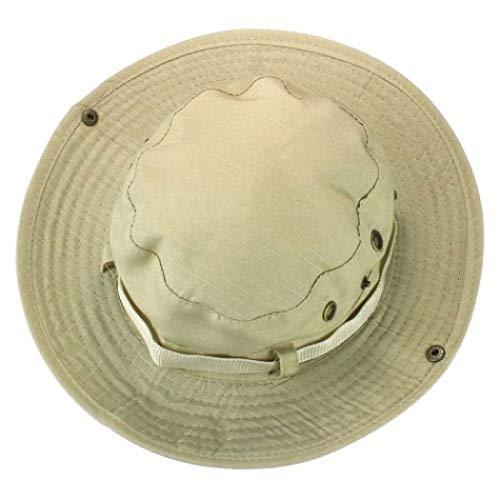 Kappe Männer Frauen Eimer Hut breiter Krempe Unisex Sommer Hut für die Jagd Angeln Wandern Camping Klettern (Jagd-kostüme Für Paare)