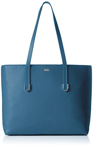 Hugo Nives-R 10195833 01, Sac à Main Femme, Taille Unique Bleu (medium Blue)