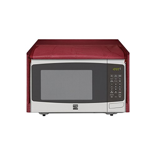 E-RetailerTM Polyester and Cotton Microwave Oven Cover for 30 Litre(Set Content : 1 Pc, Color : Maroon)