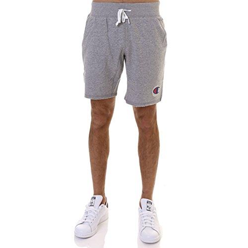 Champion Herren Jersey Short Bermuda Art. 211526EM006, Farbe grau, Kollektion Primavera Sommer 2018 Large grau - Champion Jersey Shorts