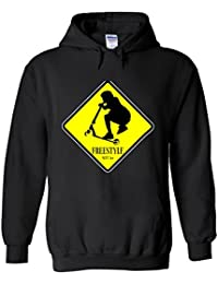 Freestyle Kids Scooter Sign Novelty White Femme Homme Men Women Unisex Sweat à Capuche Hooded Sweatshirt Hoodie