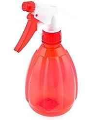 En plastique transparent rouge-flacon vaporisateur de fleurs pulvérisateur d'eau 500 ml