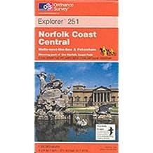 Norfolk Coast Central (Explorer Maps)