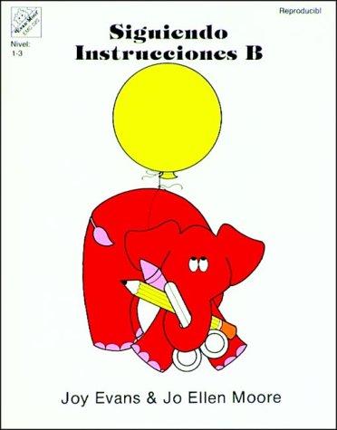Siguiendo Instrucciones B por Joy Evans