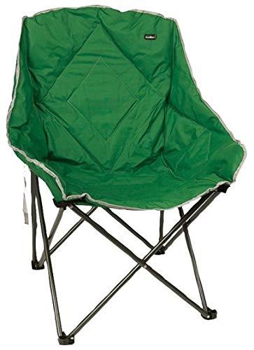 Statford XL Camping Chair Green - H99 x W75 x D64cm - Summit