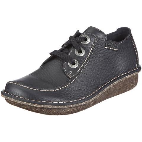Clarks Funny Dream 20301123 - Zapatillas de casa de cuero para mujer